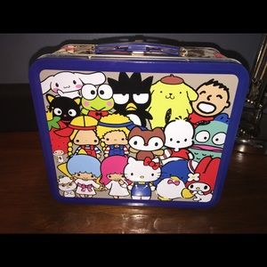 Loungefly Hello Kitty & Friends Tin Lunchbox